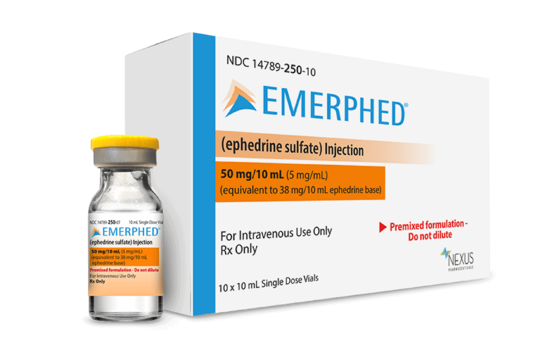 Nexus Pharmaceuticals Receives Patent for EMERPHED®